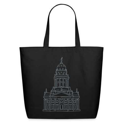 French Cathedral Berlin - Eco-Friendly Cotton Tote