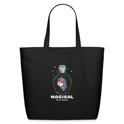 magical bottle design - Eco-Friendly Cotton Tote