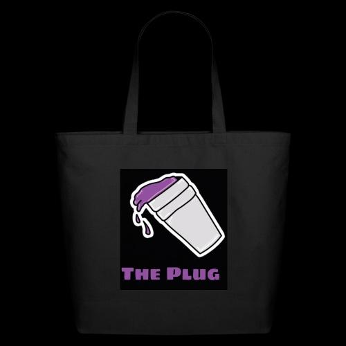 the Plug logo - Eco-Friendly Cotton Tote