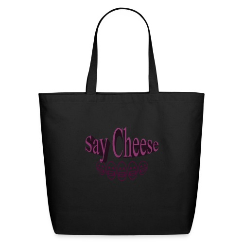 Say cheese - Eco-Friendly Cotton Tote