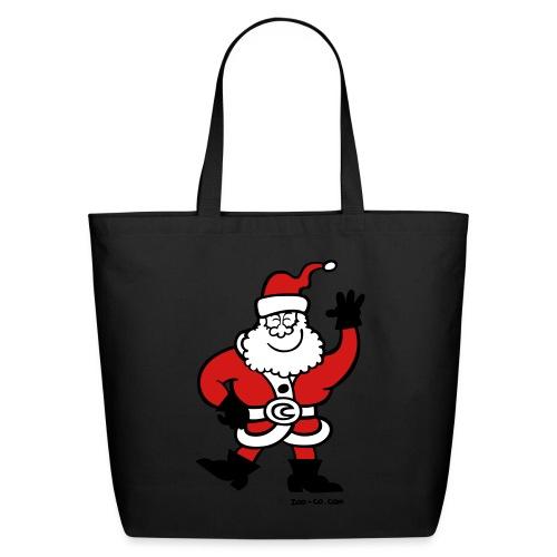 Santa Claus Greetings - Eco-Friendly Cotton Tote