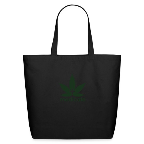 Medicate Supporter - Eco-Friendly Cotton Tote