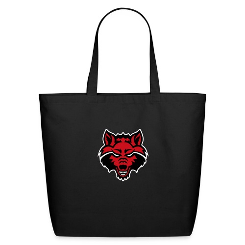 Red Wolf - Eco-Friendly Cotton Tote