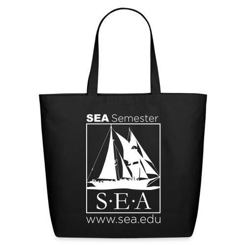 SEA_main_logo - Eco-Friendly Cotton Tote