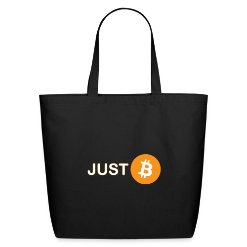 Just be - just Bitcoin - Eco-Friendly Cotton Tote