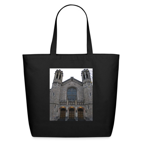 Gothic church frontage - Eco-Friendly Cotton Tote