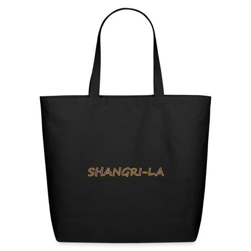 Shangri La gold blue - Eco-Friendly Cotton Tote