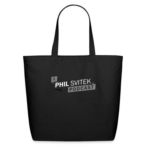 A Phil Svitek Podcast Logo ONLY Design - Eco-Friendly Cotton Tote