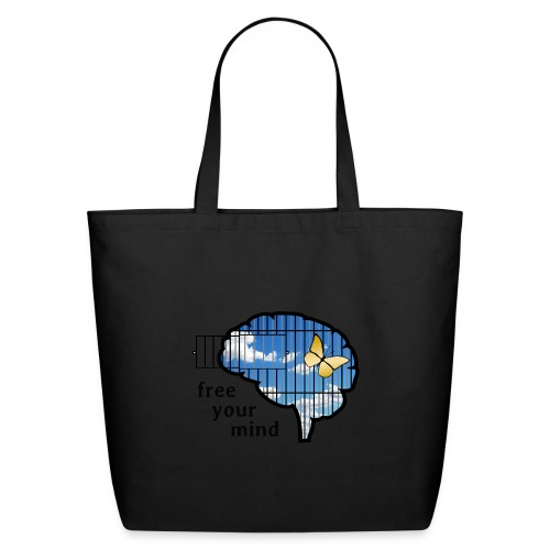 free your mind - Eco-Friendly Cotton Tote