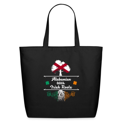 ALABAMIAN WITH IRISH ROOTS - Eco-Friendly Cotton Tote