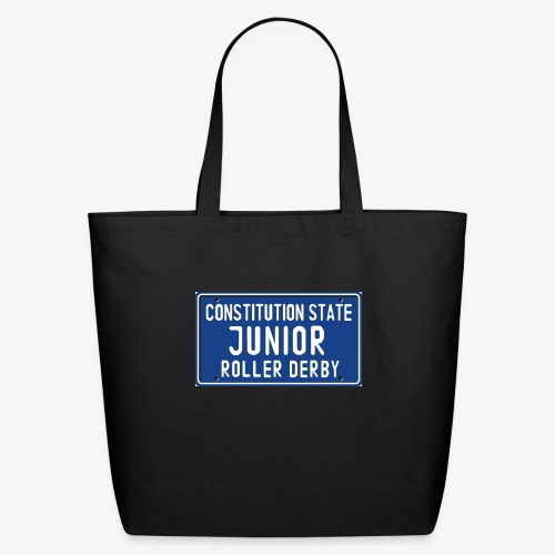 Constitution State Junior Roller Derby - Eco-Friendly Cotton Tote