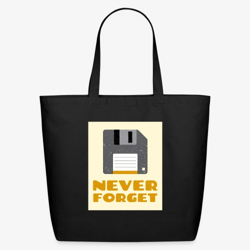 Never Forget - Eco-Friendly Cotton Tote