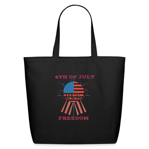 4th of July Freedom - Eco-Friendly Cotton Tote