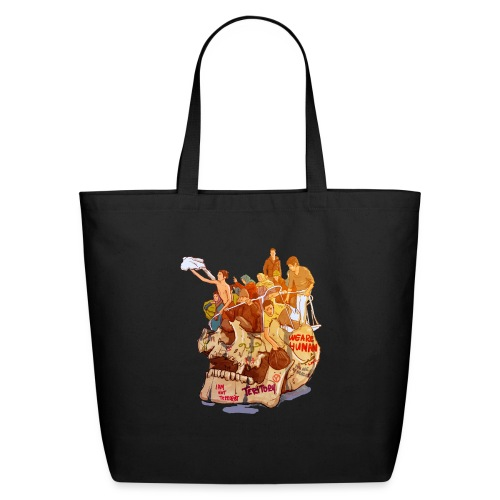 Skull & Refugees - Eco-Friendly Cotton Tote
