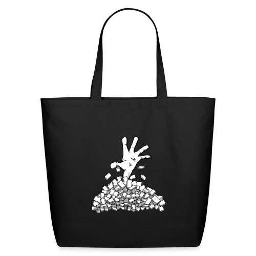 Buried by your backlog - Eco-Friendly Cotton Tote