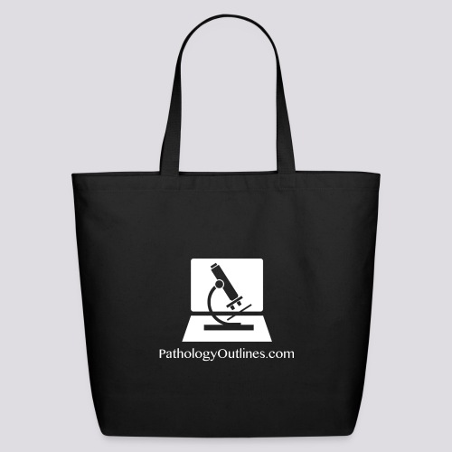 Pathology Outlines Square Logo - Eco-Friendly Cotton Tote