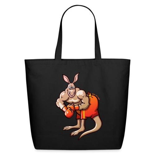 Olympic Boxing Kangaroo - Eco-Friendly Cotton Tote