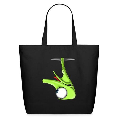Funny Green Ostrich - Eco-Friendly Cotton Tote