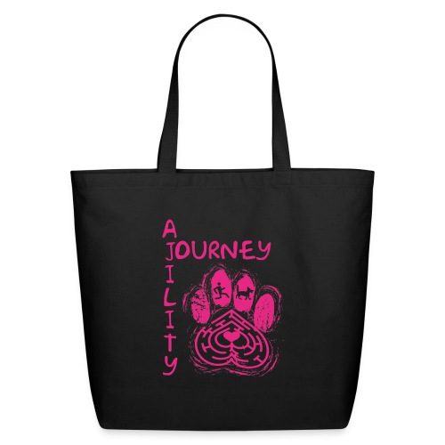 Journey Agility With Woot on Back - Eco-Friendly Cotton Tote