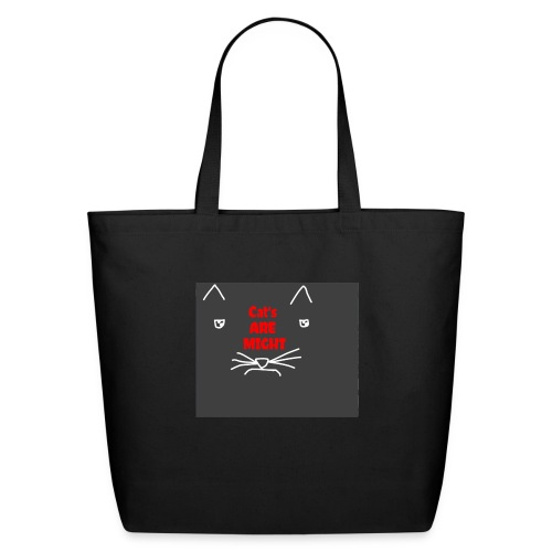 Cat's Are Might - Eco-Friendly Cotton Tote