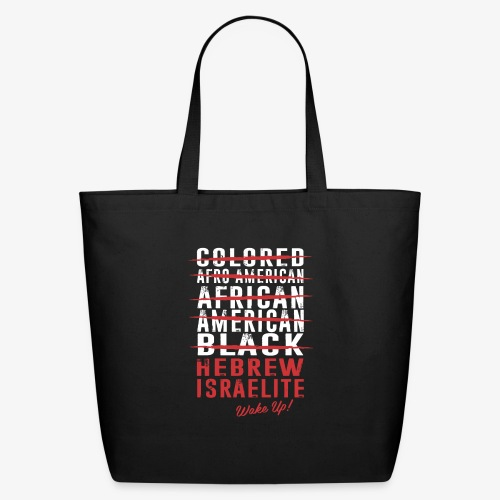 Hebrew Israelite - Eco-Friendly Cotton Tote