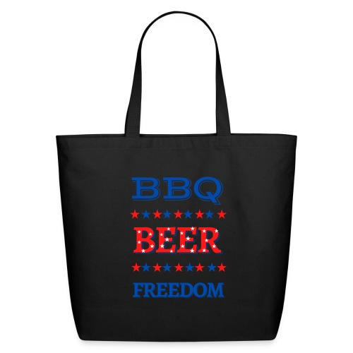 BBQ BEER FREEDOM - Eco-Friendly Cotton Tote