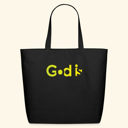 GOD IS #7 - Eco-Friendly Cotton Tote