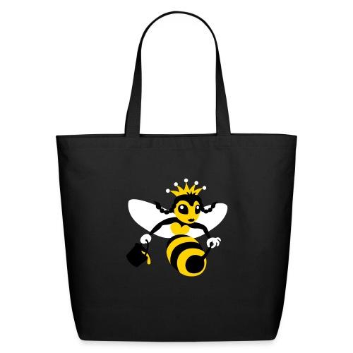 Queen Bee - Eco-Friendly Cotton Tote