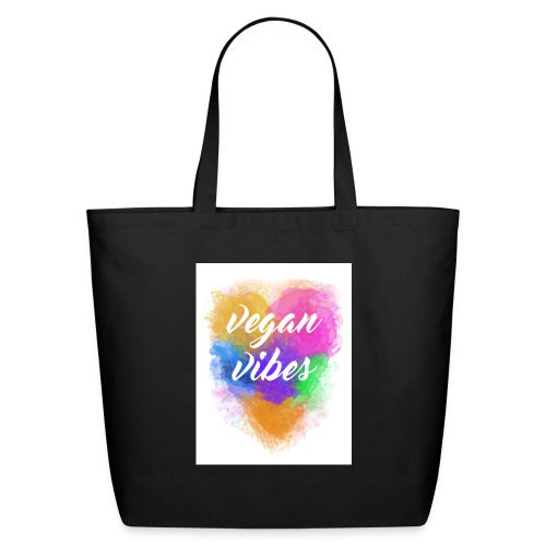 Vegan Vibes - Eco-Friendly Cotton Tote