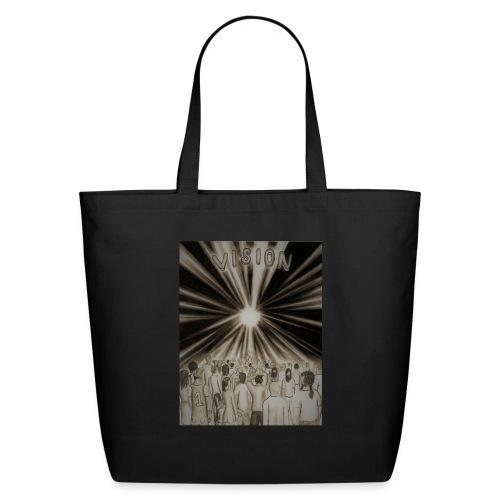 Black_and_White_Vision2 - Eco-Friendly Cotton Tote