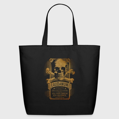 Laudanum Goth Steampunk Medical Doctor - Eco-Friendly Cotton Tote