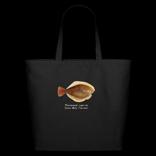 Yellow belly flounder - Eco-Friendly Cotton Tote