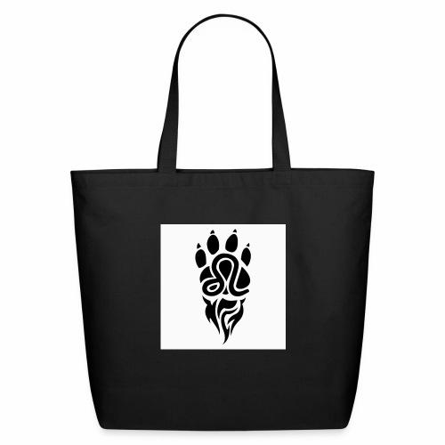 Black Leo Zodiac Sign - Eco-Friendly Cotton Tote
