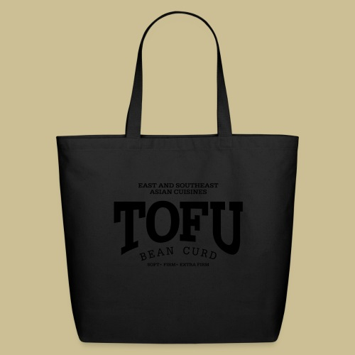 Tofu (black) - Eco-Friendly Cotton Tote
