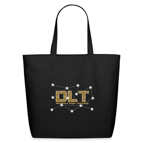 DLT - distributed ledger technology - Eco-Friendly Cotton Tote