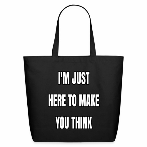 IJHTMYT (White Font) - Eco-Friendly Cotton Tote
