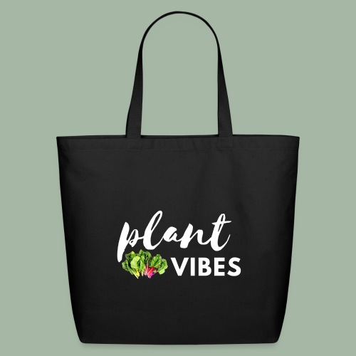 Plant Vibes - Eco-Friendly Cotton Tote