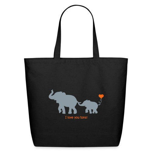 I Love You Tons! - Eco-Friendly Cotton Tote