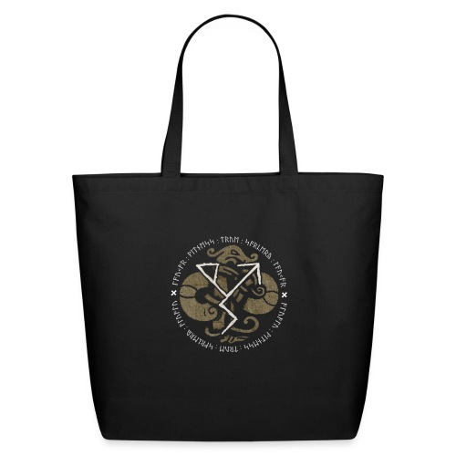 Witness True Sorcery Emblem (Alu, Alu laukaR!) - Eco-Friendly Cotton Tote