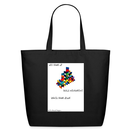 Hi I'm Ronald Seegers Collection-dominoes - Eco-Friendly Cotton Tote