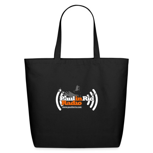 Paul in Rio Radio - Thumbs-up Corcovado #1 - Eco-Friendly Cotton Tote