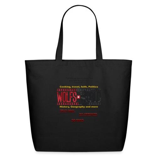 TheWolfsWorld Merch - Eco-Friendly Cotton Tote