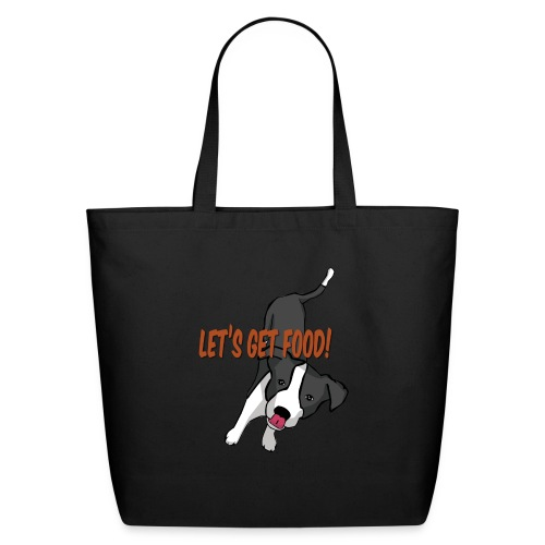 Foodie Dog Border Collie - Eco-Friendly Cotton Tote