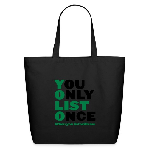 List Once - Eco-Friendly Cotton Tote