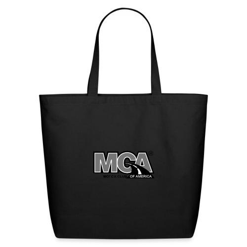 MCA Logo WBG Transparent BLACK WHITE TITLEfw fw pn - Eco-Friendly Cotton Tote