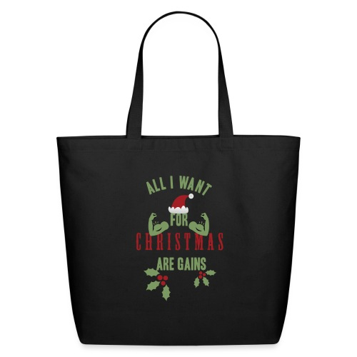 All i want for christmas - Eco-Friendly Cotton Tote