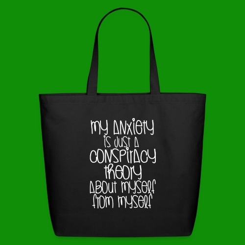 Anxiety Conspiracy Theory - Eco-Friendly Cotton Tote