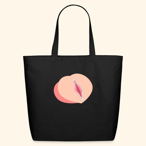 Peach - Eco-Friendly Cotton Tote