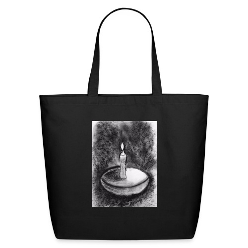 Candle light - Eco-Friendly Cotton Tote