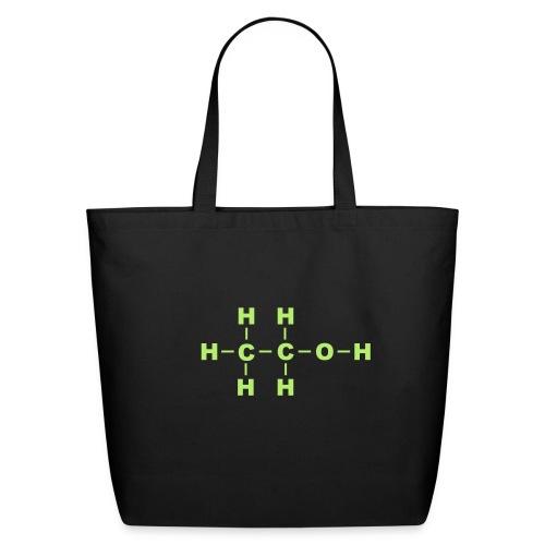 Alcohol Molecule - Eco-Friendly Cotton Tote